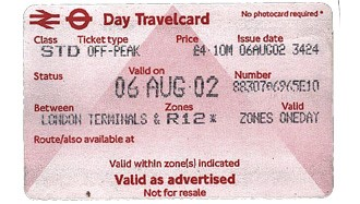 London Travel Card